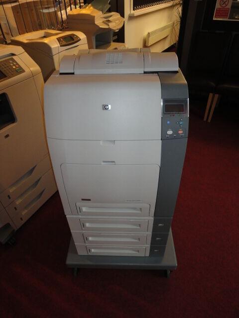 HP Colour LaserJet 4700dtn 4700 A4 Duplex Network USB Laser Printer + Warranty