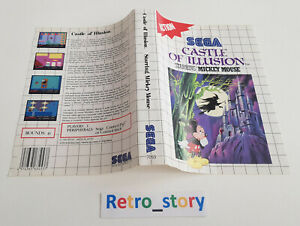 SEGA Master System - Castle Of Illusion Starring Mickey Mouse - Jaquette / Cover