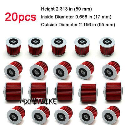 2X Oil Filters For Yamaha YFM700R RAPTOR XVS650 XVS1100 V-STAR XV250 VIRAGO
