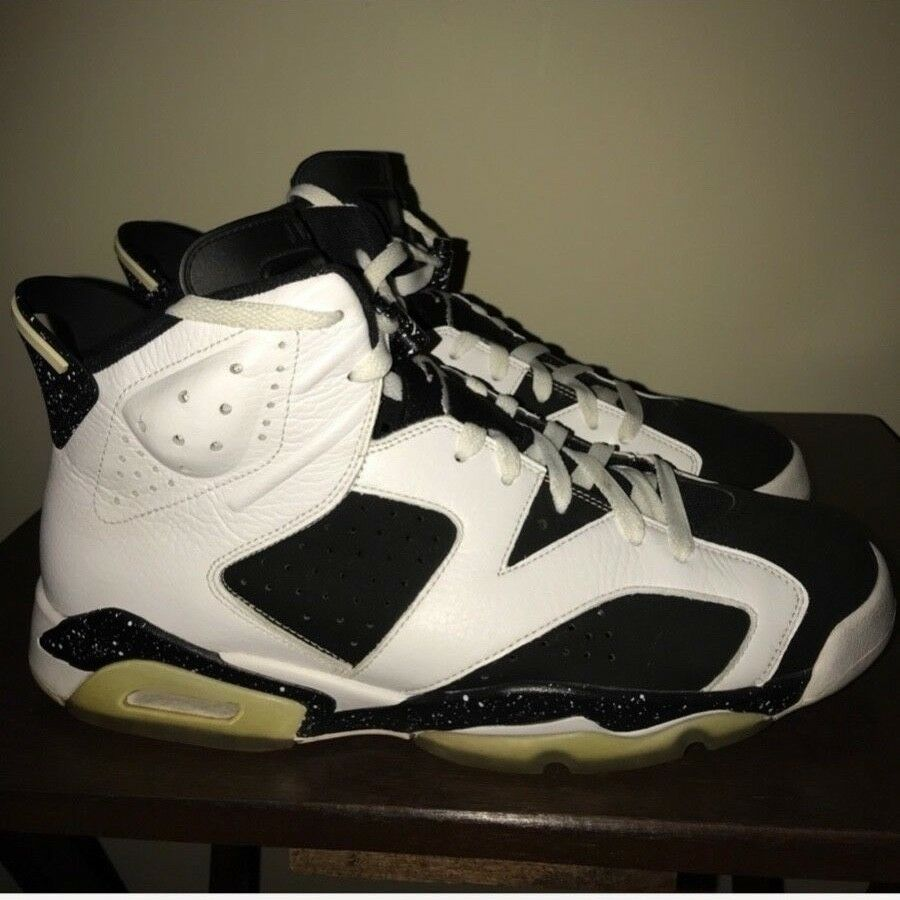 Nike Air Jordan Retro Oreo VI 6 Basketball Shoes, White Black Price reduction Sz 13 Cheap and beautiful fashion