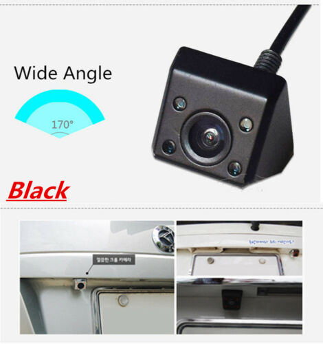 CCD Car Rear View Camera 170° Wide Angle Waterproof Real 4 IR light Night Vision