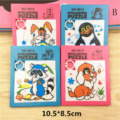 Random Animals Puzzle Slide Game Jigsaw Toy Kids Educational Gift Toys n BLES
