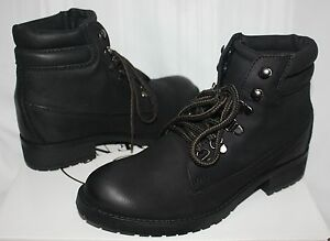 4387ccde1c3 Steve Madden Women s Gantra boots Black Leather New With Box!