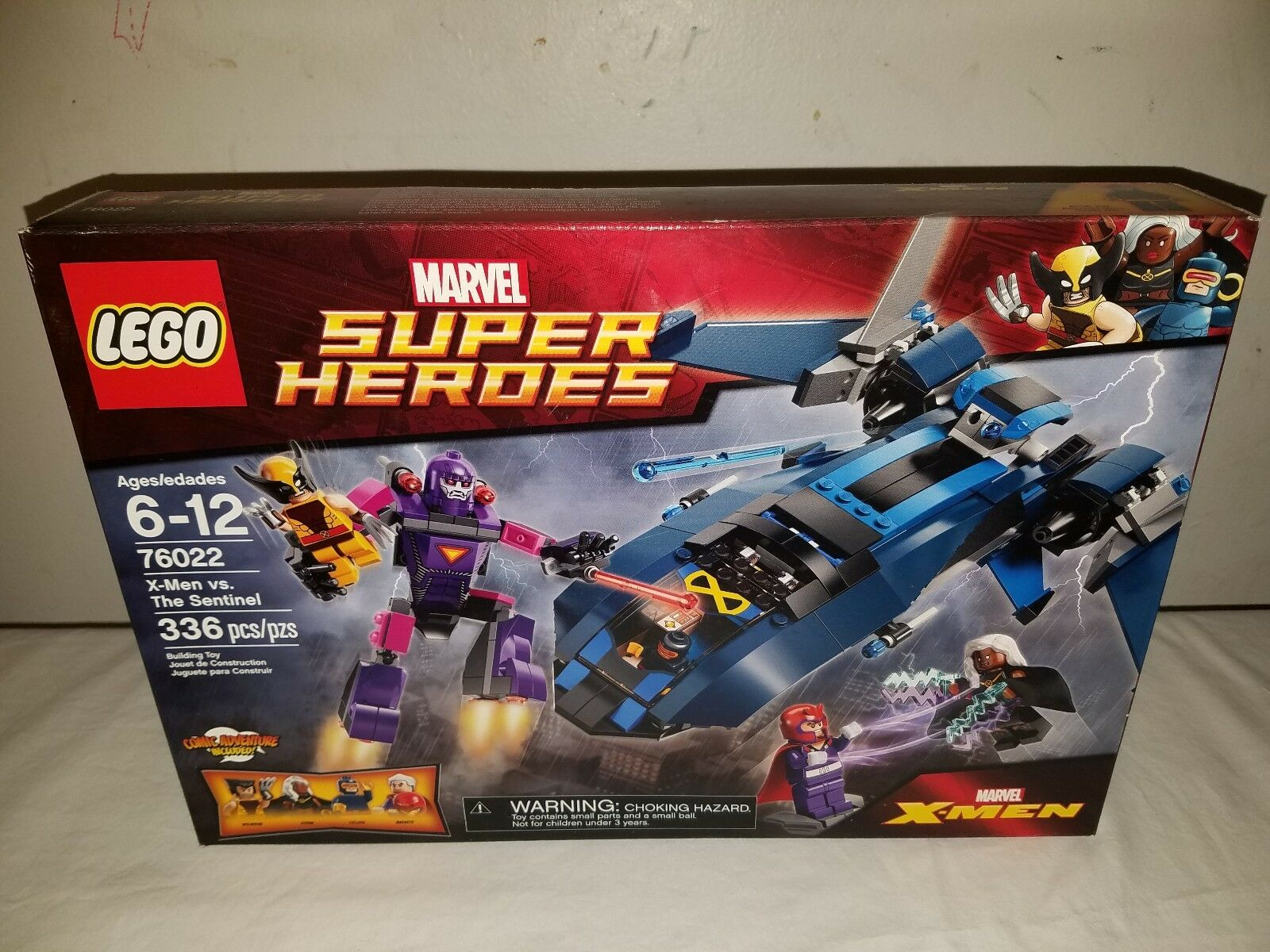 Lego Marvel Super Heroes 76022 X-MEN vs. THE SENTINEL Set NIB Sealed Retirot