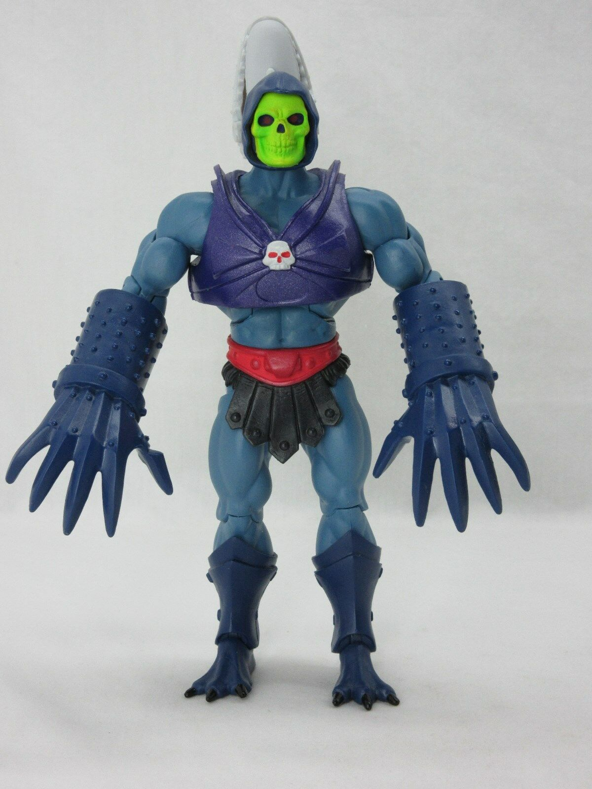 MOTUC,TERROR CLAWS SKELETOR,Masters Of Of Of The Universe Classics,Complete,He-Man b1d1df