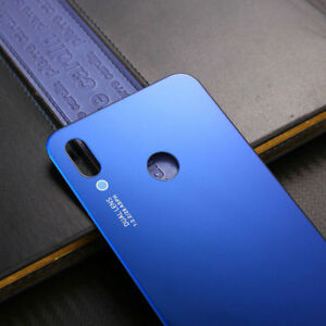 Huawei-P20-Lite-Cover-Copertina-Retro-Batteria-Copertura-Posteriore-Vetro-Blu