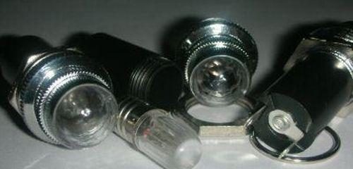 1pcs Changeant Ampoule DEL BLANC 9 V Jewel Pilot Light Pour Amplificateur Power Light
