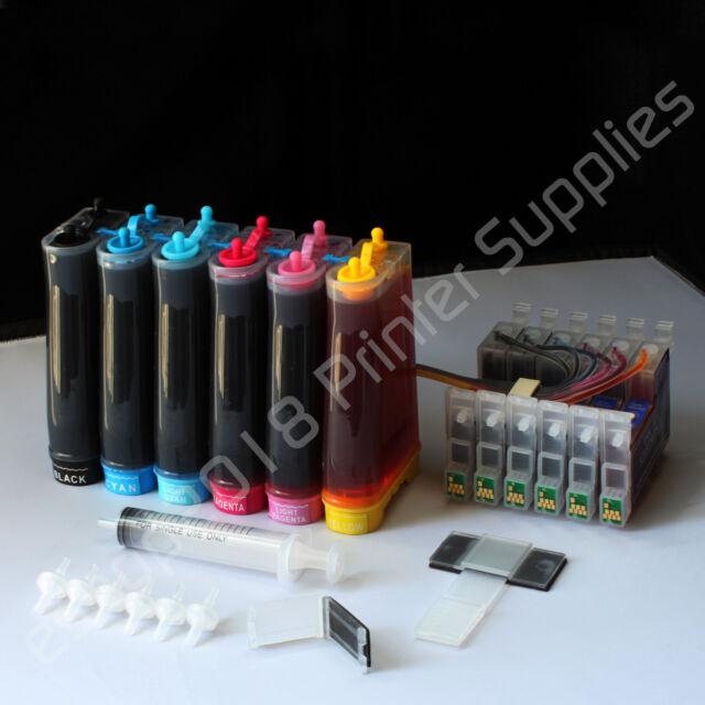 Non-OEM CISS CIS #48 Ink For Epson Stylus Photo R300