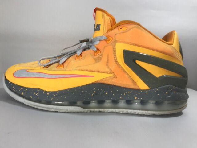 cheaper ab9f4 71ff2 Nike - Max Lebron XI (642849 800) - Atomic Mango Orange Floridians - Mens