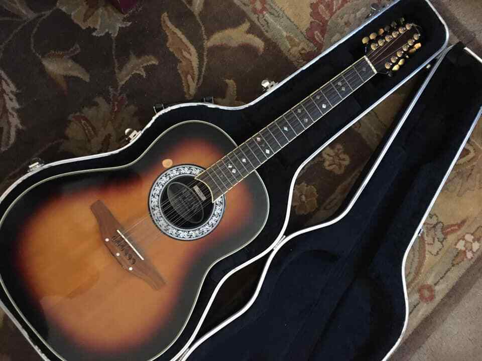 Ovation 12-String 1315D Ultra Deluxe Acoustic W Case