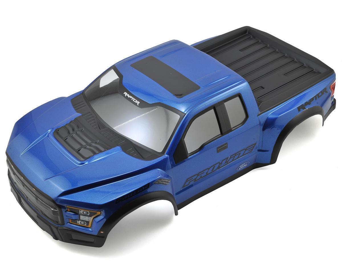 PRO3461-13 Pro-Line 2017  F-150 Raptor Pre-Painted & Pre-Cut Scale corpo (blu)  economico e alla moda