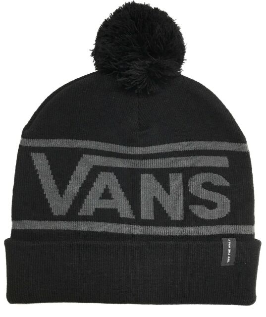 7f6d64e9bdd VANS Drop V Beanie Black (one Size) for sale online