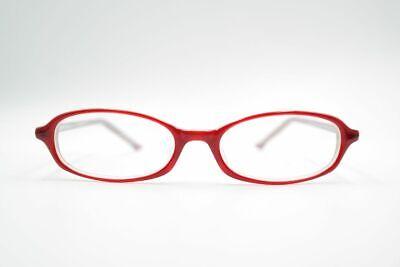 Abile Vintage Ce Opdo 2337 48 [] 17 140 Rosso Ovale Occhiali Eyeglasses Nos-