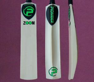 Pioneer Tape Tennis Ball Cricket Bat Zoom With Bat Cover New