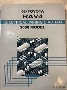 2009 Toyota RAV4 RAV 4 Electrical Wiring Diagrams Manual ...