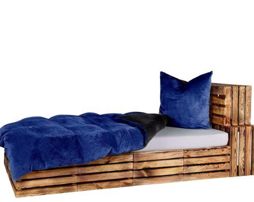 Möbel Wohnen 4 Tlg Wende Bettwäsche 155x220 Teddy Plüsch Cashmere