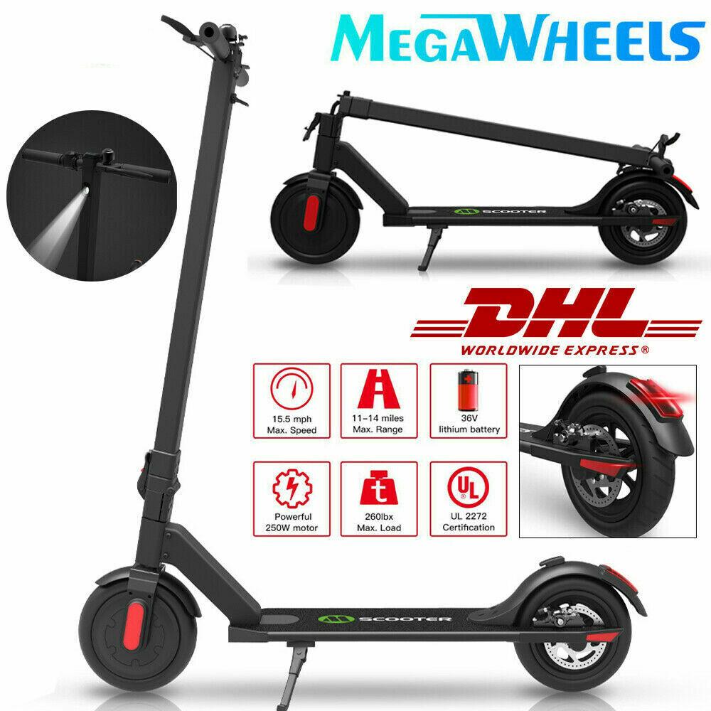 E-scooter negro 250w Electric aluminum foldable electric  scooter eléctrico  punto de venta