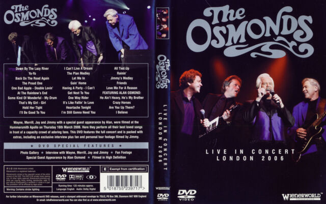 Osmonds The - DVD - Live in London 2006 and More - DVD von 2006 - NEU & OVP !