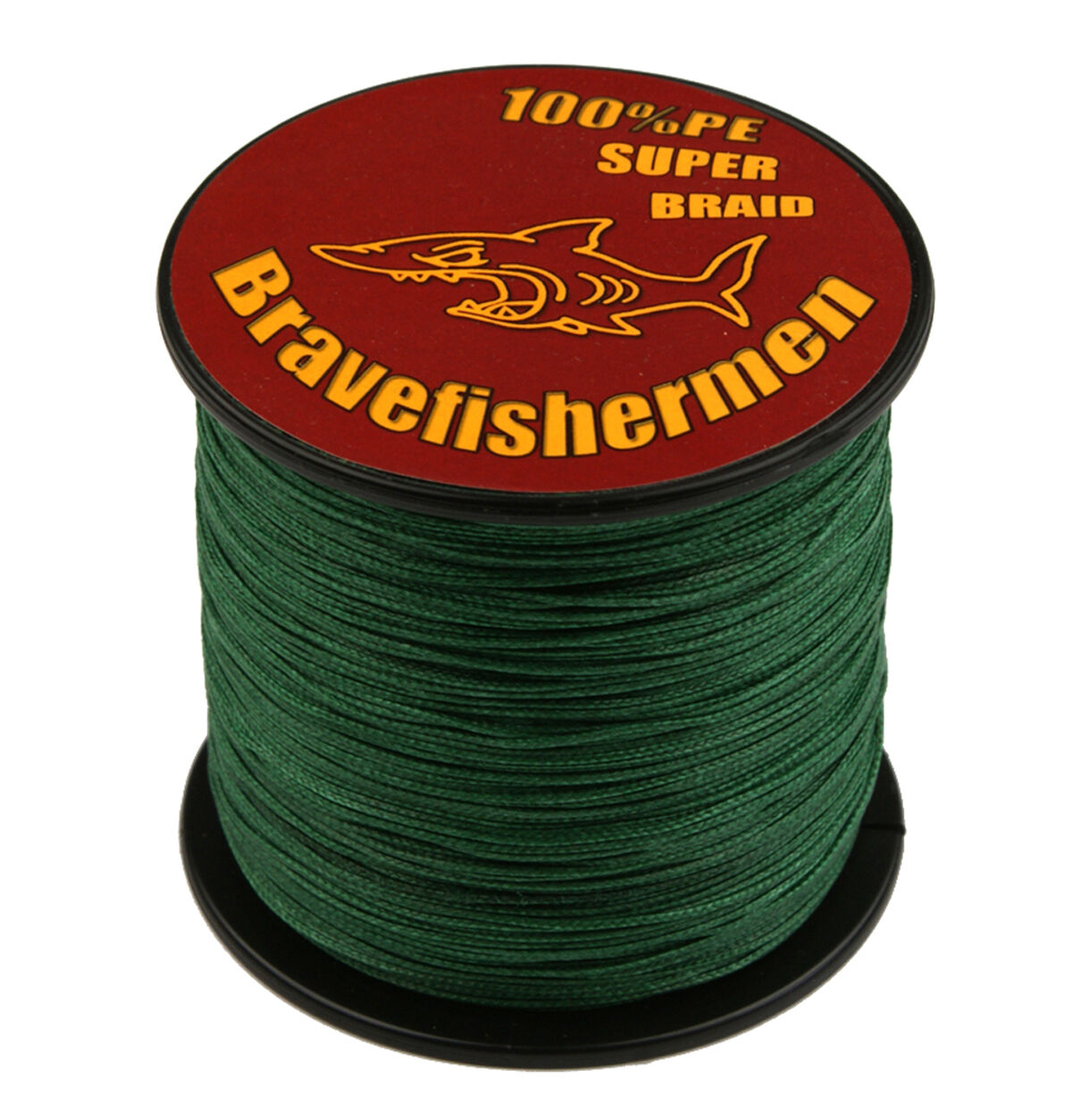BraveFishermen 100 300 500 1000M Dyneema 100%PE Green Spectra Braid Fishing Line