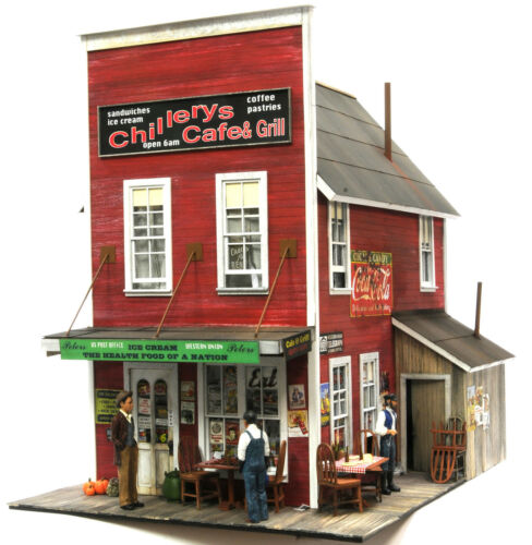 F/G scale  BANTA MODEL WORKS #8090 Chillery's Cafe