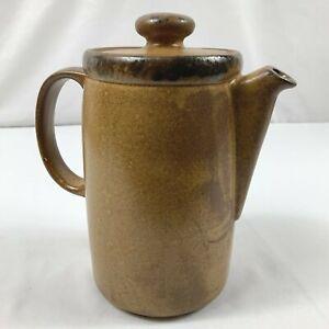Vintage McCoy Pottery 1419 Canyon Mesa Lidded Coffee Pot Pitcher Server