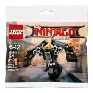 NEW, SEALED! LEGO The Ninjago Movie Quake Mech Polybag, 30379 - 64 pieces (2017)