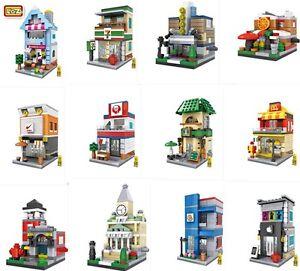 Loz Mini Building Blocks DIY Toys Anime dolls Street Boys and girls Gift