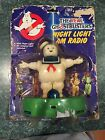 Vintage The Real Ghostbusters Stay Puft Marshmallow Man Night Light AM Radio