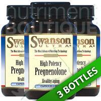 Swanson Ultra High Potency Pregnenolone 25mg 3x60 Caps