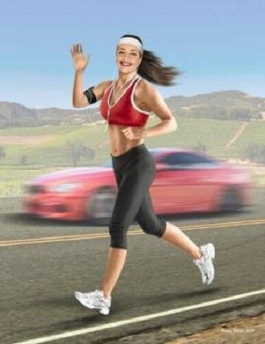 Tyra Jogging some miles MAS24050 Masterbox 1:24 scale figure