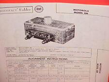 motorola radius m1225 mobile radio service manual with revisis 1999 rh ebay co uk M1225 Motorola 16 Pin Pinout motorola radius p1225 service manual