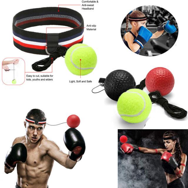 2 Stücke Kampfball Reflex Boxing Trainer  Geschwindigkeit Punch