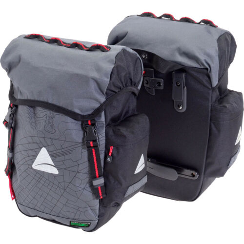 Axiom Seymour Oceanweave 22 Bike Panniers Pair Saddlebags Commuter Bags Touring