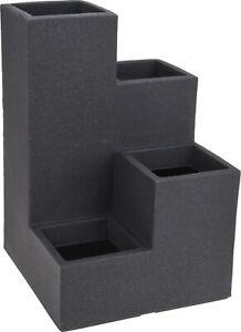 grand sol int rieur ext rieur gris cube jardini re plante. Black Bedroom Furniture Sets. Home Design Ideas