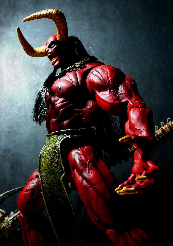 Dark Alliance Lucifer figure eternal toys chaos comics art asylum