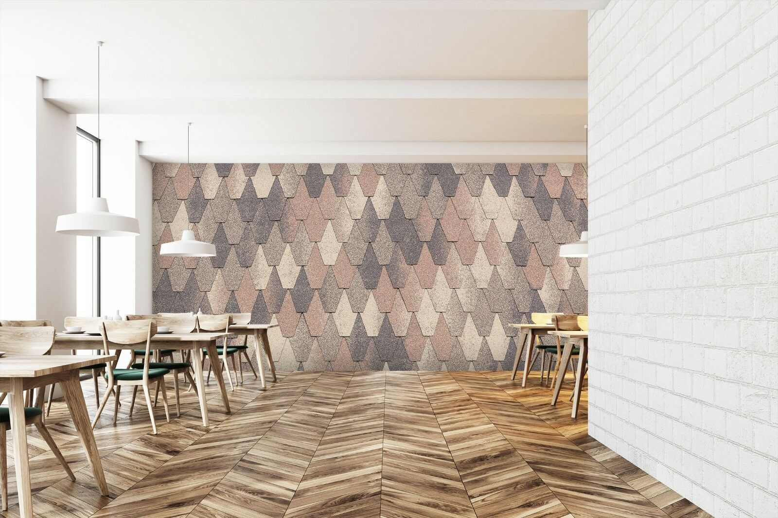 3D Fashion Tailor Art 2 Texture Tiles Marble Wall Paper Decal Wallpaper Mural AJ