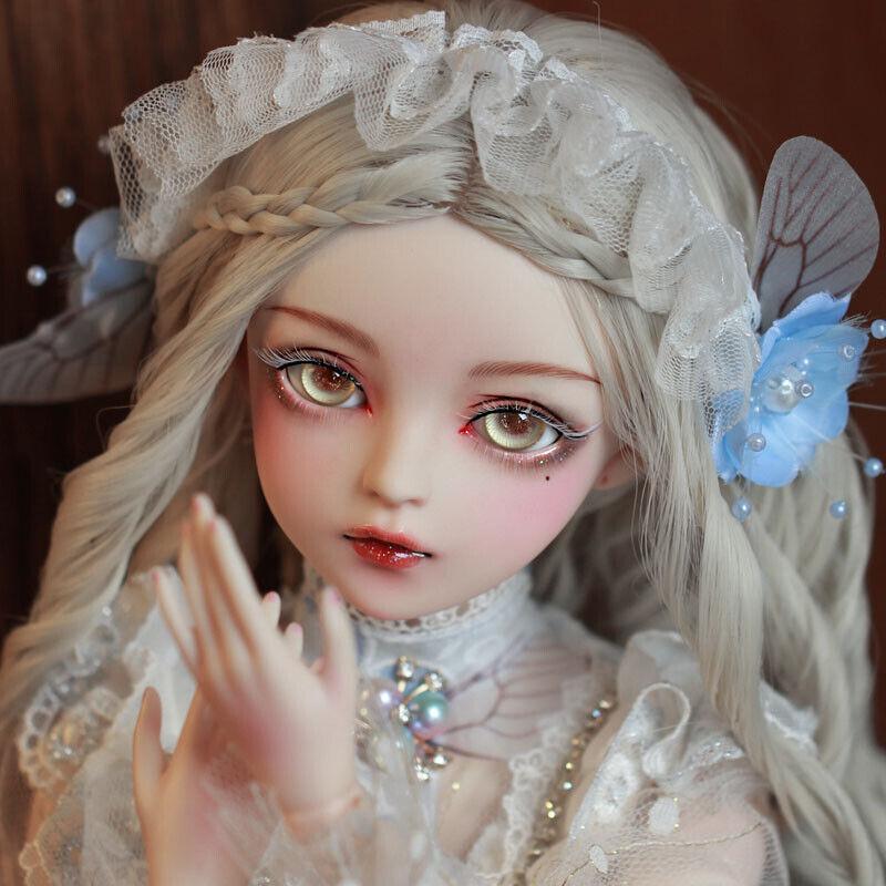 60 cm 1 3 Kugelgelenk Puppe Geschenk Handgemalt Bilden mit Prinzessin Kleider