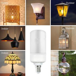 2Pcs-3W-E14-E27-LED-Lumiere-de-flamme-Dynamique-simulee-lampe-torche-mur-pelouse