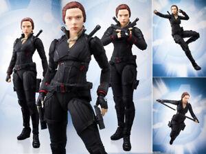 SHF-S-H-Figuarts-Marvel-Avengers-Endgame-4-Black-Widow-Action-Figuren-14cm-NoBox