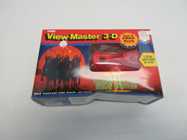 TEENAGE MUTANT NINJA TURTLES VIEW MASTER 3-D TURTLES  III  en soldes
