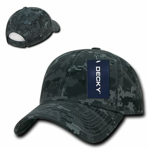 NTG Camo Cotton Structured Low Baseball Crown Curved Baseball Low Ball Cap Hat 787d2b