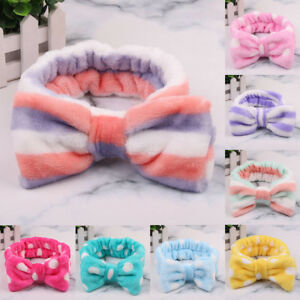 KQ-JS-AU-Spa-Bath-Shower-Makeup-Wash-Face-Cosmetic-Headband-Hair-Band-Velvet