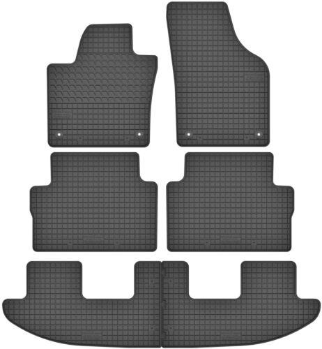 VW Sharan II für 7 Personen Gummimatten Gummi Fußmatten Satz Seat Alhambra II