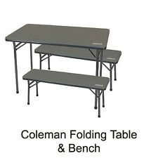 Item 1 Coleman Table Bench Picnic Camping Chair Camp Seat 1377569