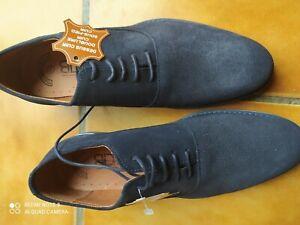 Chaussures homme de ville t 41 bleu marine neuves