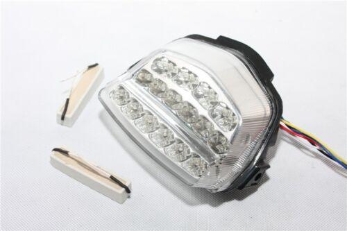 Clear Led Tail Light Brake Turn Signal For 08-12 Honda CBR 1000RR// Fireblade