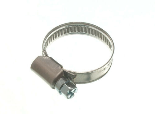 2 X COLLIERS DE SERRAGE type JUBILLEE Clip BZP Résistant aux intempéries 18 mm 32 mm