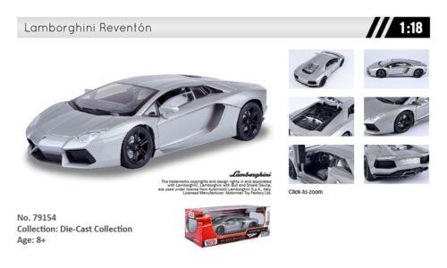 : Lamborghini Aventador LP700-4 Die-Cast No.79154 1:18