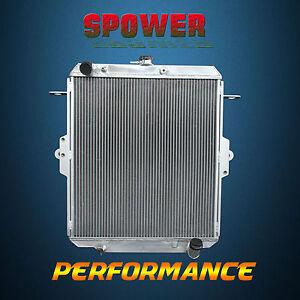 Aluminum Radiator For Toyota Landcruiser HZJ78 79 4 2L 1HZ