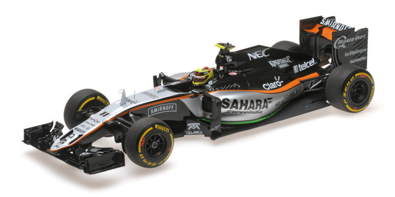 Force India Vjm09 Sergio Perez 2016 F1 Formula 1 1 18 Model MINICHAMPS